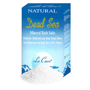 Dead Sea Bath Salt, Natural, La Cure, 1 kg